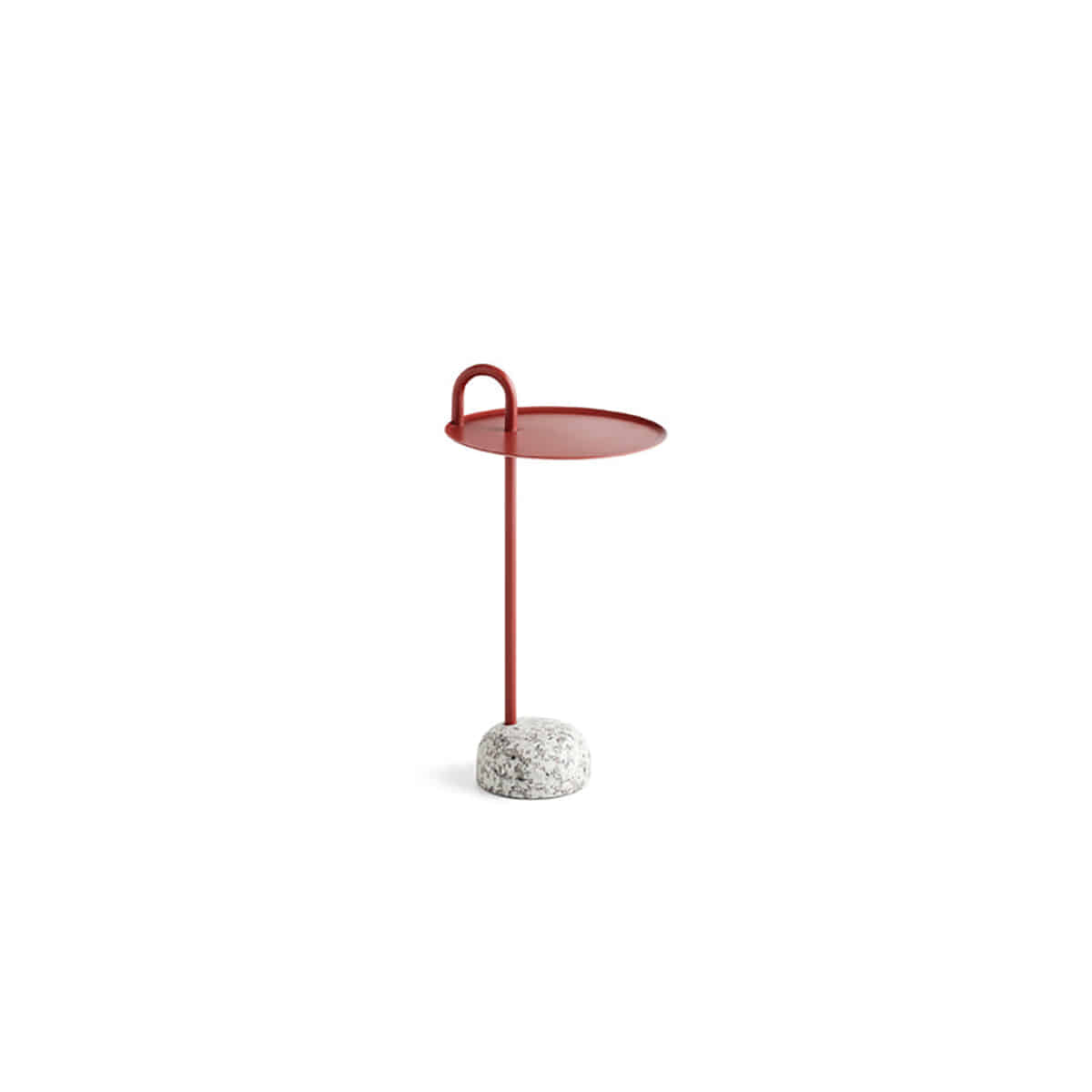 [HAY]Bowler Table - Tile red