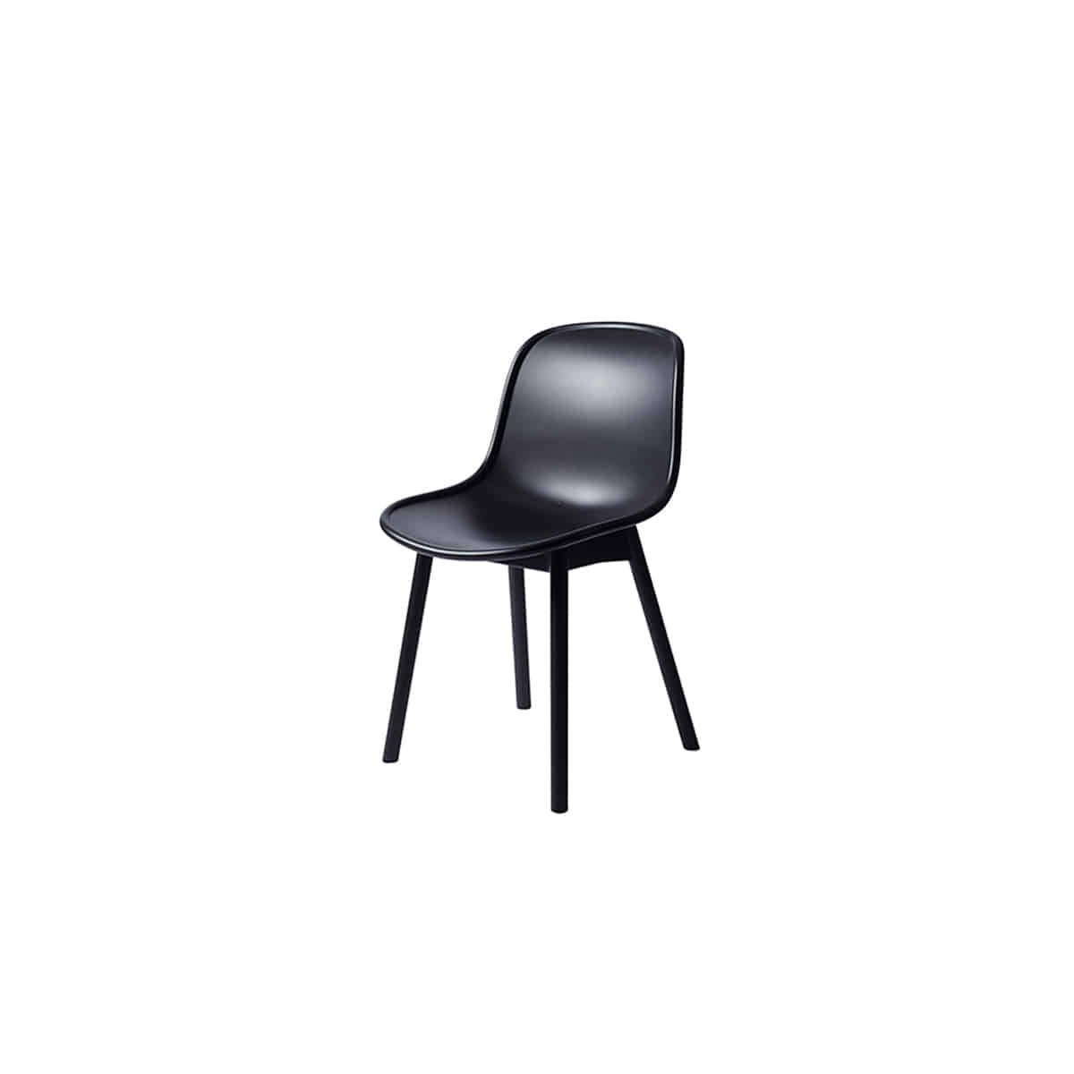 [HAY]Neu Chair, NEU13 Soft black/black