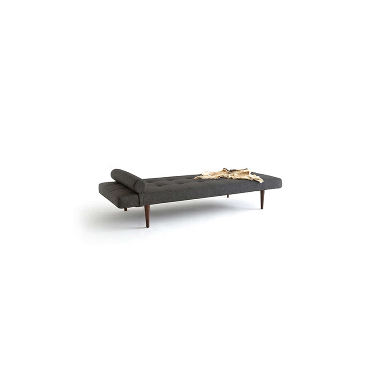 [Innovation Living]Napper Daybed w.Styletto Leg / Dark Elm-black